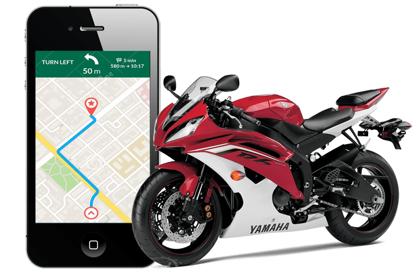 GPS Device For Bike